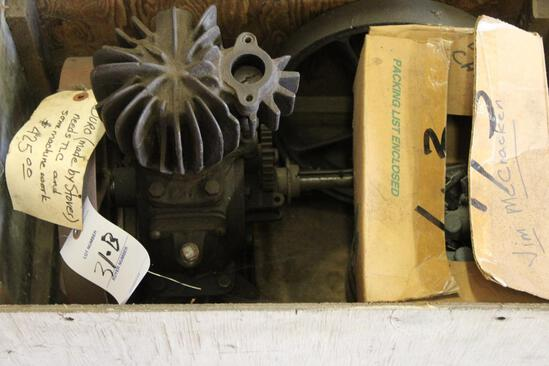 Duro Stover Vertical Engine, Will Need Work