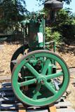 The Root & Van Dervoort 4HP Vertical Gas Engine, Mfg by Deere and Webber, Older Restoration