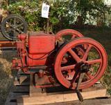 McCormick Deering 2.5HP Gas Engine, Older Restoration, Complete