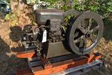 Hercules 3HP Gas Engine, Complete and Restored