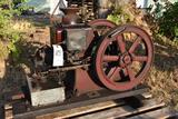 Massey Harris Type 2 1.5HP Gas Engine, Good Original Condition, Complete