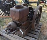 Galloway 5HP Gas Engine, Appears Complete, Needs Assembly