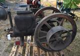 Starite 6HP Type C2 Gas Engine, Has Had Repair to Casting, Not Complete Needs Parts