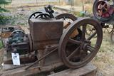 Bloomer/Keller 3HP Gas Engine, Major Parts with It, Needs Assembly