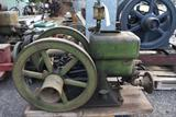 Hercules Economy 1.5HP Gas Engine, Appears Complete, Repaired Hopper