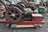 New-Way Gas Engine, Air Cooled, Complete, Original Condition