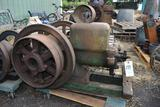 John Deere Type E 3HP Gas Engine, Appears Complete, Original Condition