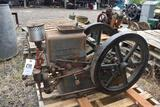 International Harvester 2HP Gas Engine, Mostly Complete, Missing Rod and Piston