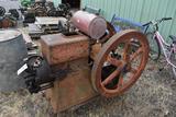 Thurmoil 8HP Diesel Engine, Rebuilt Injector, With Oiler, Original Condition