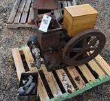 Olds 1.5HP Gas Engine, has been restored. has extra carburetor