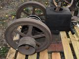Unknown Mfg Gas Engine, Missing Some Parts