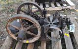 Associated Air Cooled Gas Engine, Appears Complete, Original Condition