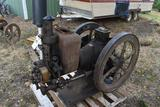 Mogul Side Shaft 6HP Gas Engine, Appears Complete, Original Condition