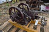 Brownwall Type C Air Cooled Gas Engine, Complete, Restored, Has Been Running