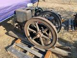 Fairbanks Morse 4HP Gas Engine, Original Condition, Not Complete, Missing Mag, Missing Tank, Missing