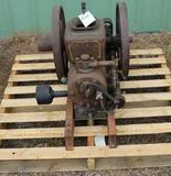 Bull's Eye Type GE 2HP Side Shaft Gas Engine, Appears Complete, Original Condition