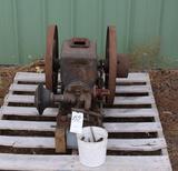 Field Brundage Wolverine 2HP Gas Engine, Appears Complete, Restoration Started