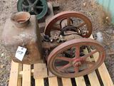Fairmont Type RO 8HP Gas Engine, Appears Complete, Original Condition