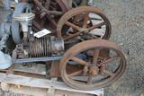 IH Air Cooled Gas Engine, Missing Piston and Rod