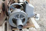 Mogul Junior 1HP Gas Engine, Restoration Started, Appears Complete