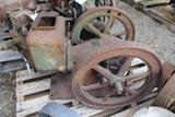 Mogul 1HP Gas Engine, Motor Stuck, Missing Some Parts
