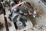 Briggs and Stratton Model Y Kick Start Gas Engine, Appears Complete
