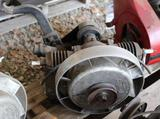 Maytag Kick Start Twin Cylinder Gas Engine, Appears Complete