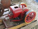 Galloway Restored Gas Engine, Spark Plug, Appears Complete