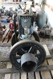 New-Way Model A 3.5HP Gas Engine, Restored, Appears Complete