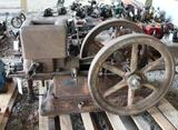 United 1.5HP Gas Engine, Stuck, Appears Complete