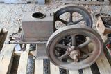 Keller by Bloomer Machine 3HP Gas Engine, Stuck, Complete