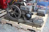 Alamo Blueline 1.5HP Gas Engine, Original Condition, Appears Complete