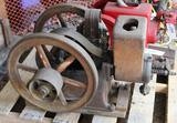 Associated 1.5HP Gas Engine, Appears Complete Original Condition