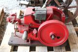 1.5-2.5HP Gas Engine, Appears Complete, Restored