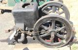 Fairbanks Morris Z 1.5HP Gas Engine, with Fuel Tank, Ignitor