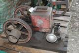 Stover Mitchell 1HP Gas Engine, Appears Complete, Original Condition