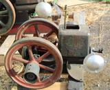 Stover Mitchell 1HP Gas Engine, Complete
