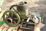 John Deere 1.5HP Gas Engine, Torn Apart, Appears to Have Most Parts