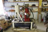 Atlas Imperial Air Compressor, Complete with Fuel Tank, Pressure Tank
