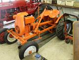 Power King Tractor, Restored, Fenders, with Briggs and Stratton Gas Engine