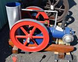 Weber Junior 3HP Gas Engine, Complete and Restored