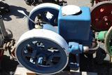 OshKosh 4HP Gas Engine, spark plug ignition, oiler, motor is free,