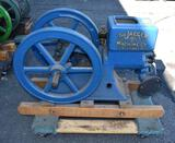 Jaeger Machine Co. Model A2H No. 3E Gas Engine, Restored, Not Complete, Needs Gas Tank and Magneto