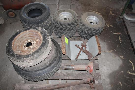 MISC TIRES, POWER SHAFT, LAWN MOWER TIRES, ATV TIRES