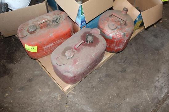 OUTBOARD MOTOR FUEL CANS, ROLLERS, AND MORE