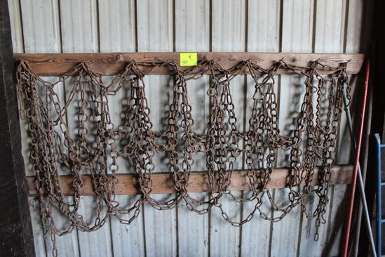 "TRACTOR CHAINS, ""SIZE UNKNOWN"""