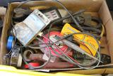 WIRE STRIPPERS, ELECTRICAL TESTERS, STUD SENSOR, ELECTRICAL TAPE