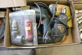 3 CORDED BLACK AND DECKER DRILLS