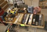 WAGNER HEAT GUN, WELDING RODS, TABLE AND MORE