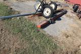 AUGER AXLE AND MISC IRON